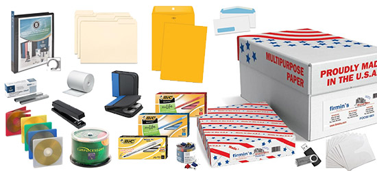 Office Products available from Firmin's Office City Texarkana Carthage Mt Pleasant